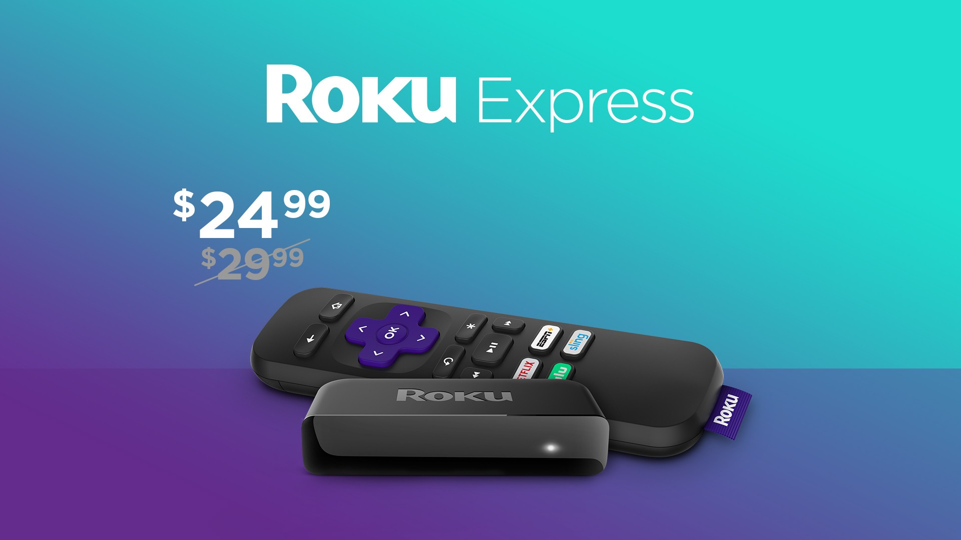 Save $5 on the Roku Express