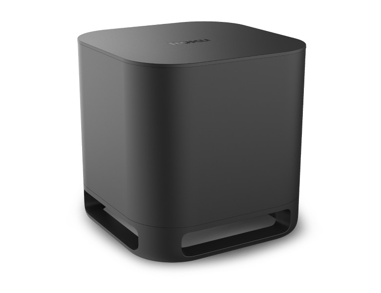 Look before you buy: Roku Wireless Subwoofer at an angle