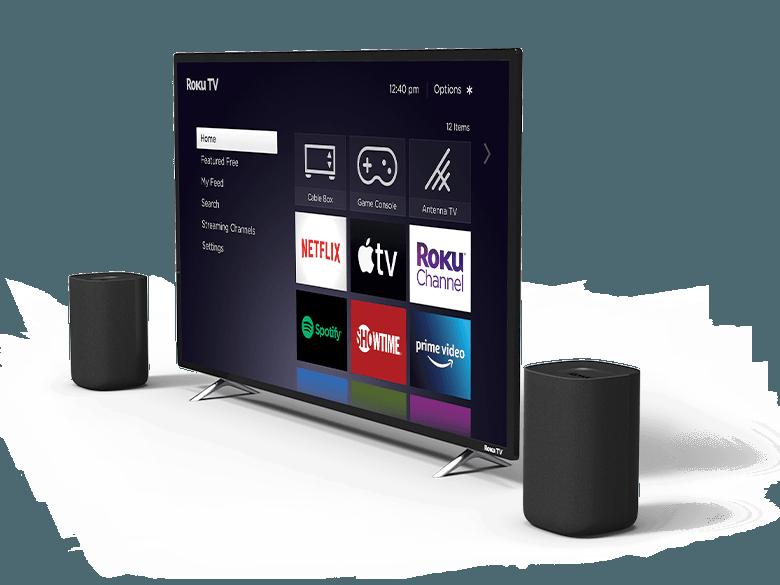 Look before you buy: Roku TV Wireless Speakers around a Roku TV