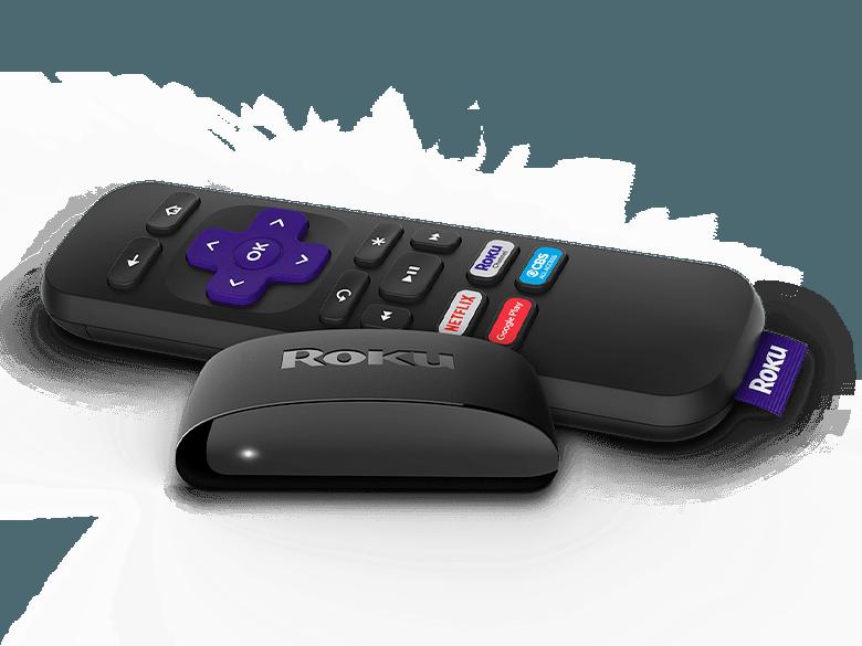 Roku Express and remote