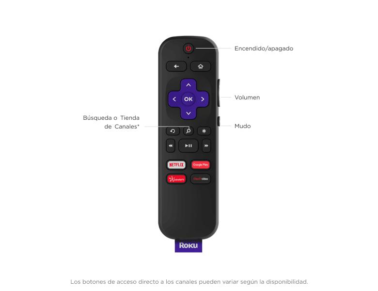 Roku® Streaming Stick®+ voice remote