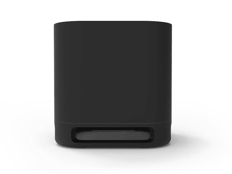 Look before you buy: front view of Roku Wireless Subwoofer
