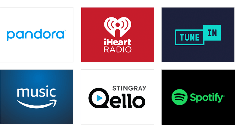 Stream music on your Roku® Streaming Stick®+ for free or buy a subscription with channels like Pandora, iHeart Radio, Tune In, Amazon Music, Stingray, and Deezer.