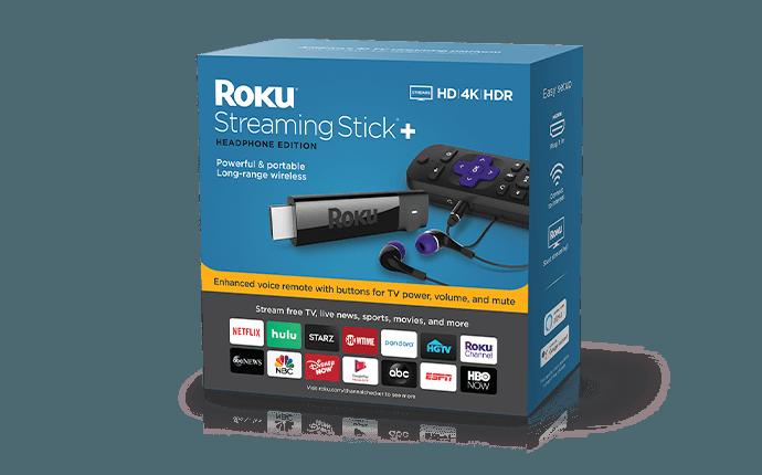 Roku Streaming Stick+ box