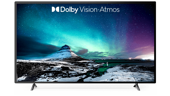 Image of the Northern Lights demonstrating the power of Dolby Atmos