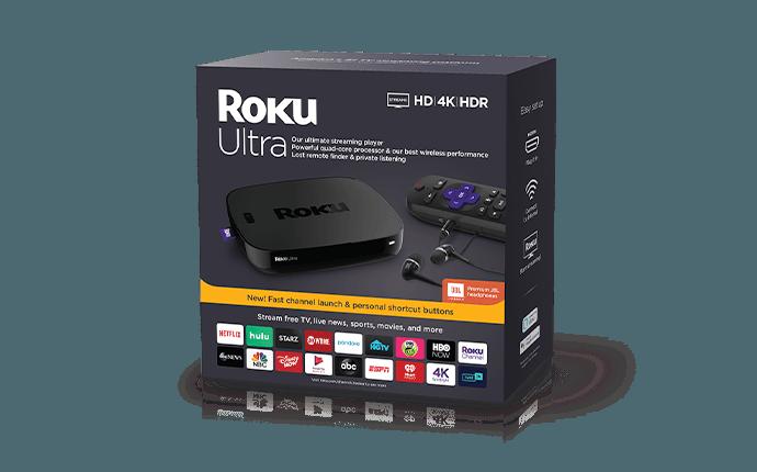 Roku Ultra box
