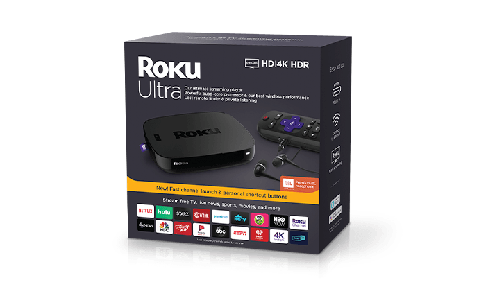 Roku Ultra packaging